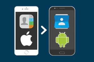 Hướng dẫn chuyển danh bạ từ iPhone sang Android