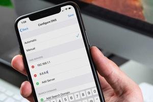 Cách đổi DNS trên iPhone