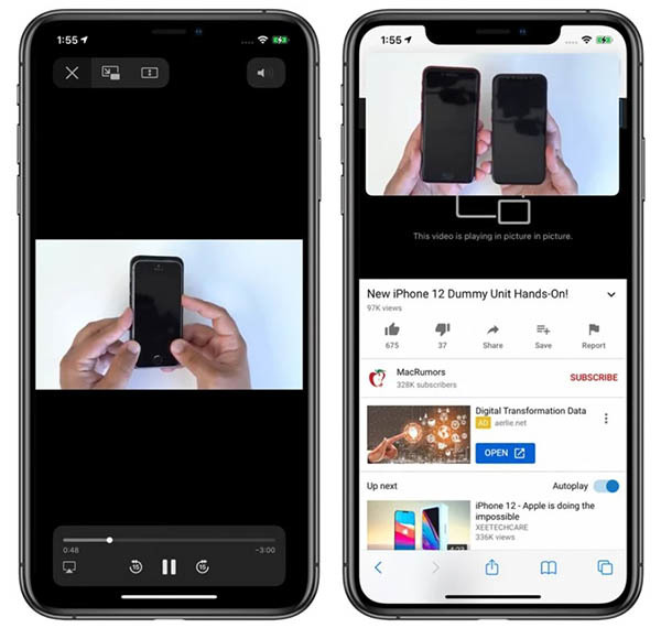 Picture in Picture,PiP,iPhone,hướng dẫn,cài đặt,sử dụng