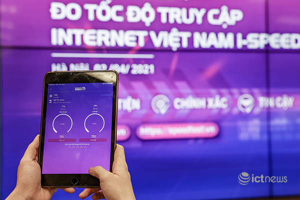 """Ứng dụng """"Make in Vietnam"""" i-Speed giúp người dùng tự đánh giá tốc độ truy cập Internet"""