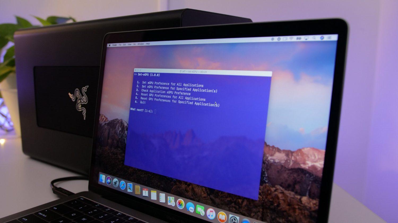 Những eGPU giúp Macbook 'lột xác' mạnh mẽ