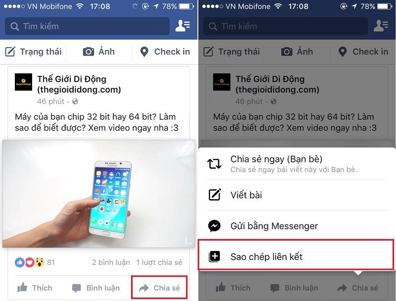 Cách tải video từ Facebook về iPhone