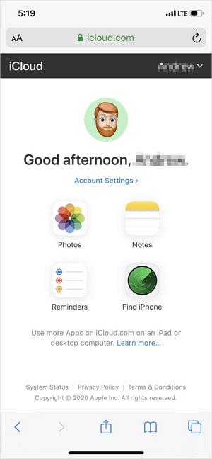 Hướng dẫn tải ảnh từ iCloud về iPhone