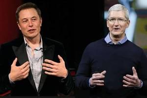 Tim Cook ngưỡng mộ công ty của Elon Musk