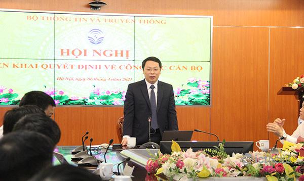 Bà Trần Thị Quốc Hiền được điều động, bổ nhiệm làm Phó Cục trưởng Cục Tin học hóa