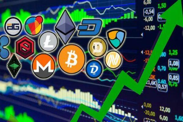 Tổng giá trị thị trường tiền ảo lần đầu vượt quá 2.000 tỷ USD
