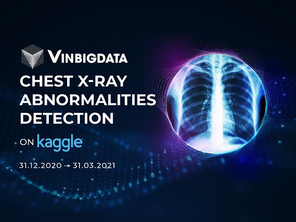 VinBigdata công bố kết quả cuộc thi toàn cầu về ứng dụng AI trong phân tích hình ảnh y tế trị giá 50.000 USD