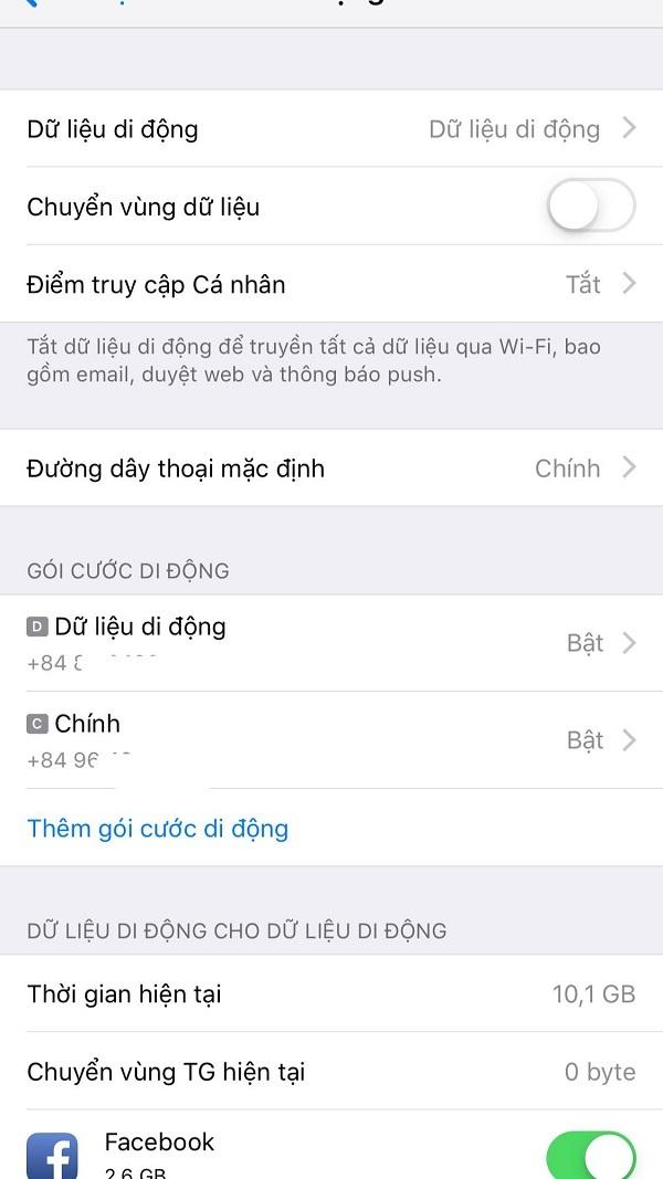 Cách cài eSIM cho iPhone
