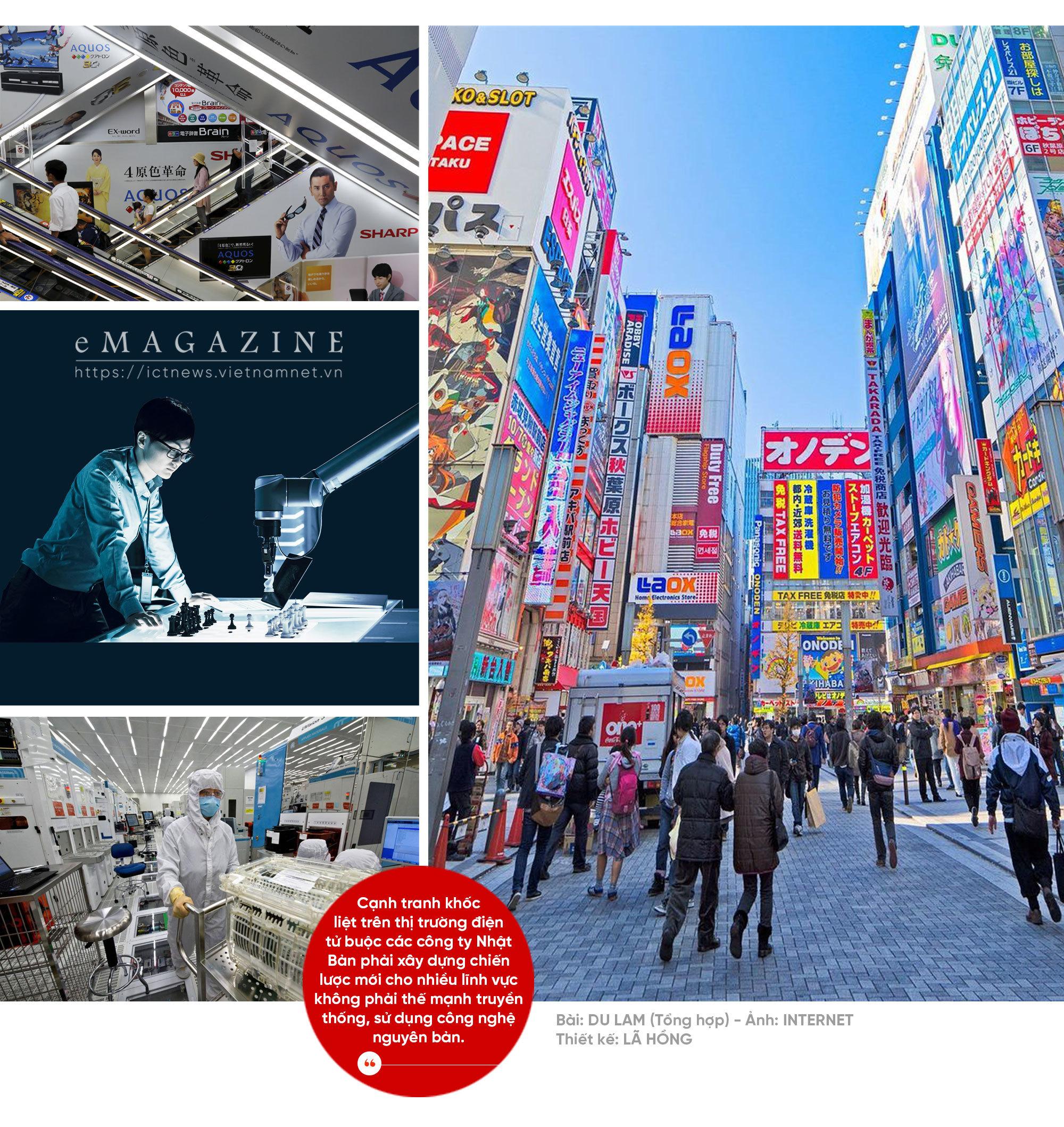 Điện tử Nhật Bản đang hồi sinh
