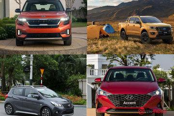 10 xe bán chạy nhất tháng 3: Ford Ranger bất ngờ lên top