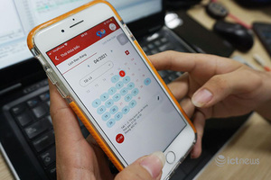 Thí sinh dự tuyển vào PTIT có thể theo dõi thông tin tuyển sinh qua app PTIT S-Link
