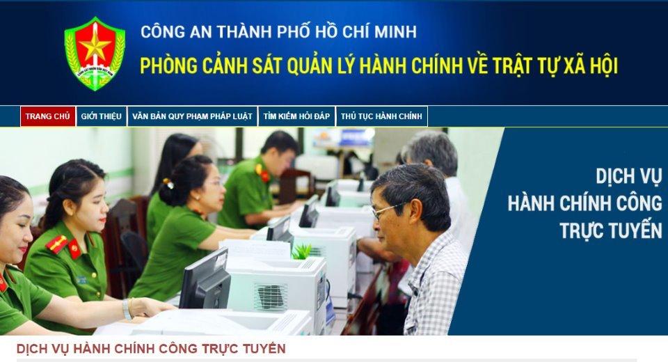 online,căn cước công dân,CCCD,TP.HCM,trực tuyến,hướng dẫn