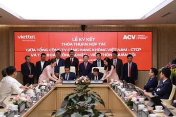 Viettel và Tổng công ty cảng hàng không Việt Nam hợp tác thúc đẩy chuyển đổi số