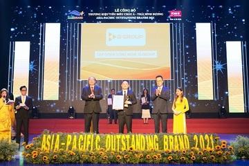 Tập đoàn công nghệ G-Group lọt Top 10 thương hiệu tiêu biểu Châu Á – Thái Bình Dương 2021