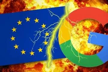 Ba lần EU 'xuống tay' với Google