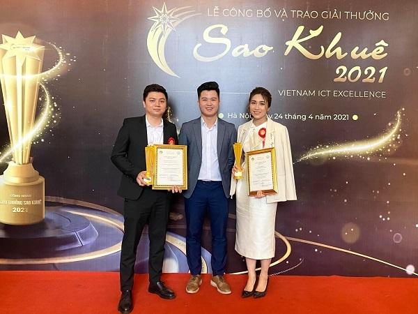 Nền tảng công nghệ tuyển dụng TopCV nhận cú đúp giải thưởng Sao Khuê 2021