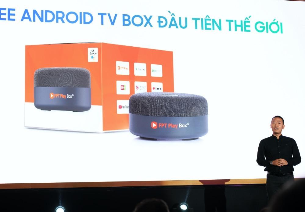 FPT Telecom ra mắt Android TV Box điều khiển bằng giọng nói tiếng Việt