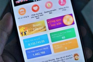Mất 154 triệu đồng sau 10 ngày vì dùng app đa cấp Bounty
