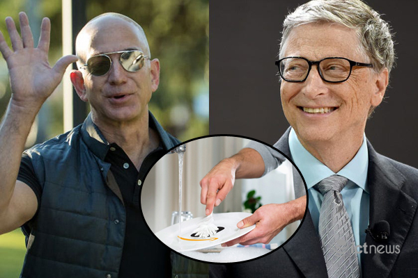 Bill Gates,Jeff Bezos