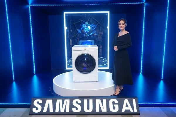 """Máy giặt AI Samsung mới ra mắt đã mang đến trải nghiệm """"giặt giũ' thông minh thế nào?"""