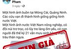 Tung tin giả trên Facebook về nạn vận chuyển hàng lậu qua cửa khẩu Móng Cái
