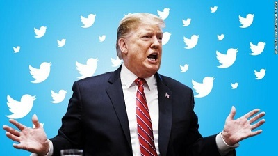 Twitter đình chỉ tài khoản đăng lại tuyên bố của ông Trump