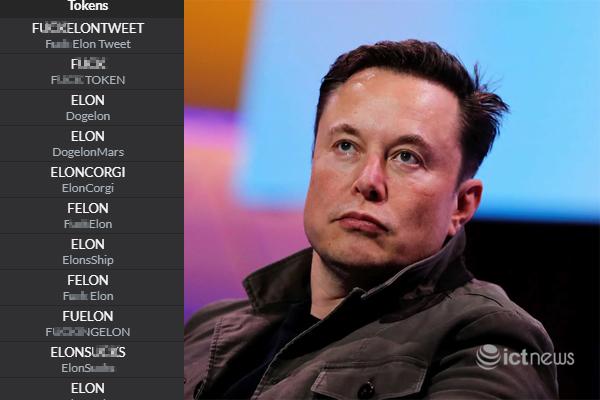 Tiền ảo mỉa mai Elon Musk mọc lên như nấm sau cú lừa Tesla