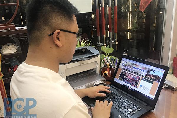 Công nghệ 'xông trận' chống dịch ở Bắc Giang