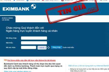 Chiêu thức tinh vi giả mạo ngân hàng lừa đảo người dùng