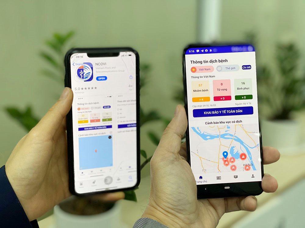 Người dân có smartphone phải cài Bluezone và bật Bluetooth khi đến nơi đông người