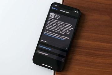 Người dùng nên cập nhật ngay iOS mới