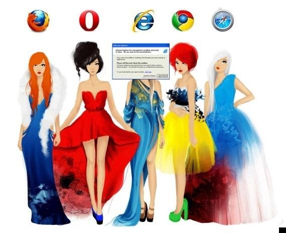 Loạt ảnh hài hước khi Internet Explorer bị khai tử