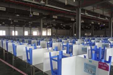 Many companies manufacture components for Samsung, Foxconn resume operations