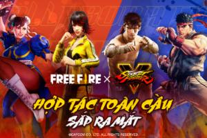 """Free Fire chào đón hai """"huyền thoại"""" Ryu và Chun-Li của Street Fighter xuất hiện trong game"""