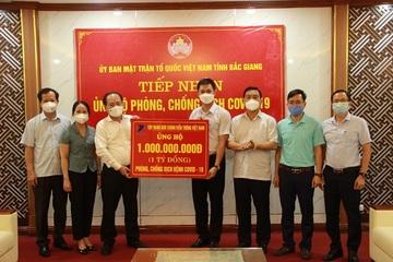VNPT chung tay, hướng về Bắc Ninh và Bắc Giang