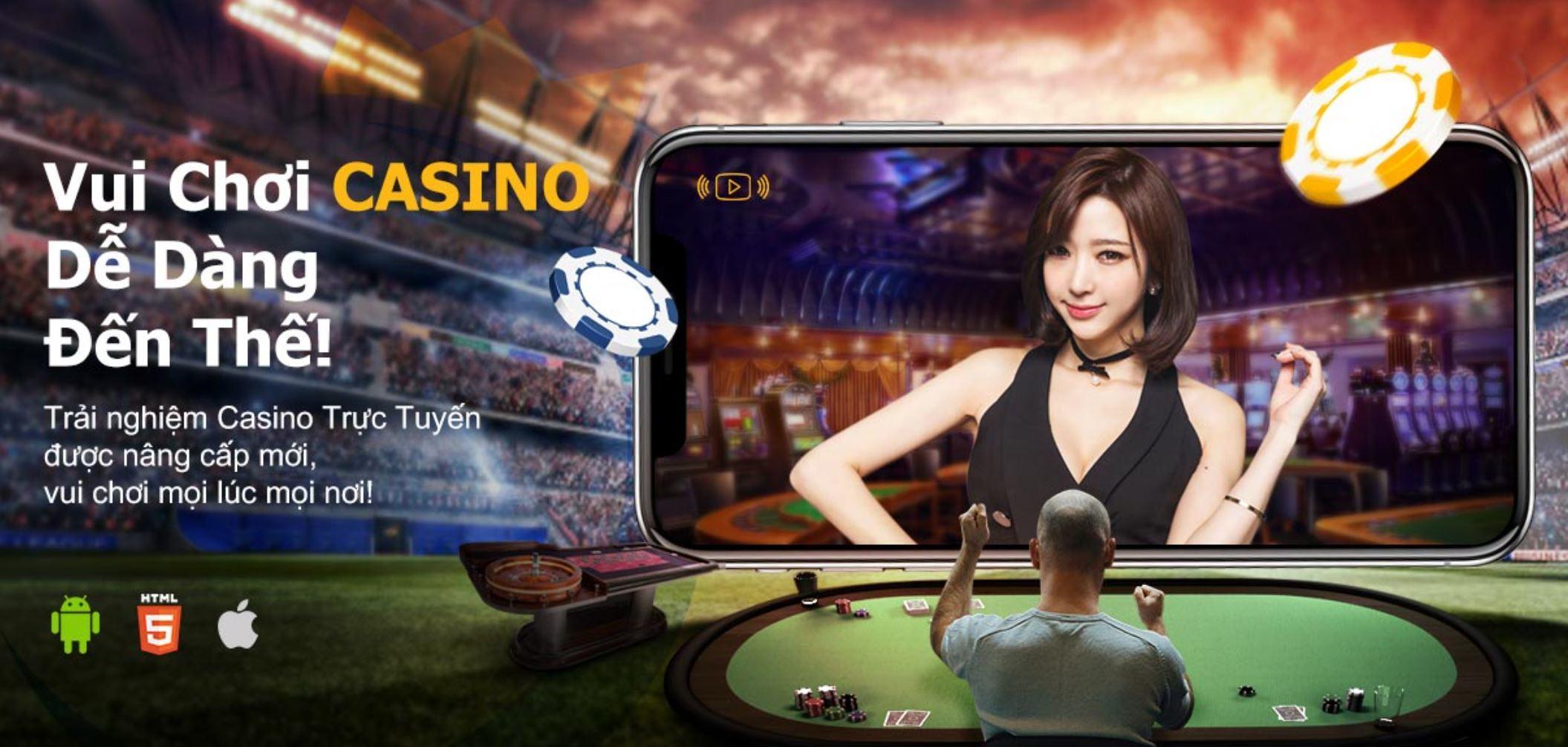 Cầu thủ Lê Công Vinh xuất hiện trong quảng cáo cho ứng dụng cá cược trái phép