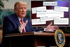 Cựu Tổng thống Mỹ Donald Trump đóng cửa blog vĩnh viễn