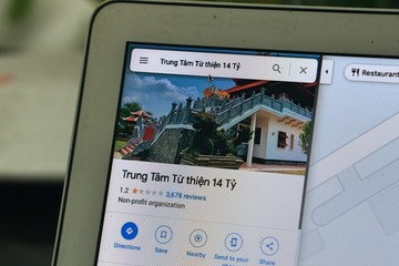 """Đền thờ tổ nghiệp của Hoài Linh bị gọi là """"trung tâm từ thiện 14 tỷ"""" trên Google Maps"""