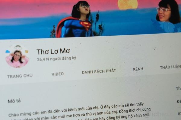 Thơ Nguyễn đổi nghệ danh mở kênh mới, bật quảng cáo