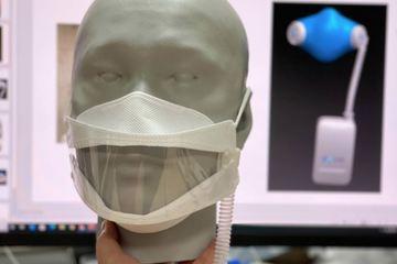 Cha đẻ máy trợ thở MV20 phát minh thêm khẩu trang 4.0: không gây ngạt, dữ liệu được đưa lên Cloud