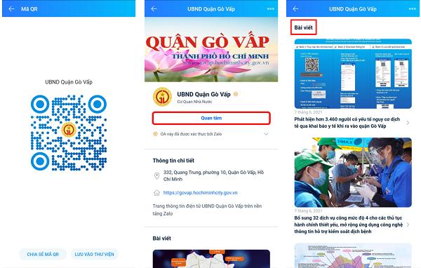 Gò Vấp, Tân Phú cho khai báo y tế điện tử tại nhà để giảm ùn tắc