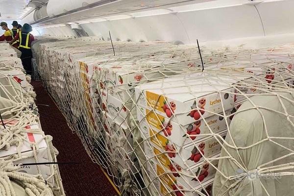 Hàng chục tấn vải thiều Bắc Giang tiếp tục được Vietnam Post hỗ trợ xuất sang Nhật