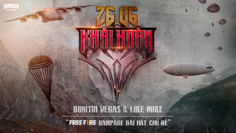Garena Free Fire mang đến sự kiện Ngày Khải Hoàn cùng màn hợp tác với bộ đôi DJ Dimitri Vegas & Like Mike