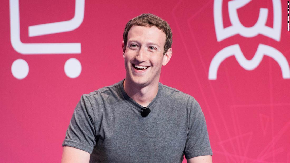 Mark Zuckerberg,làm việc từ xa,Facebook
