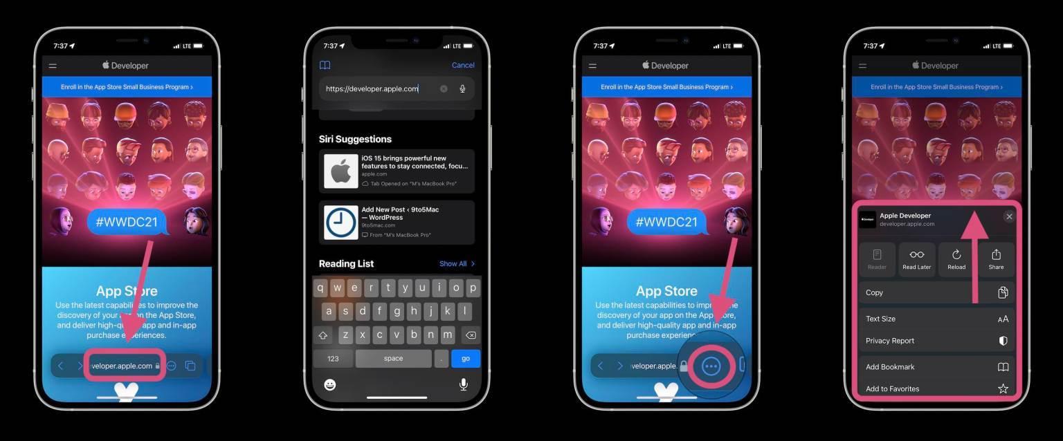 iOS 15,Safari,iPhone,Hệ điều hành IOS