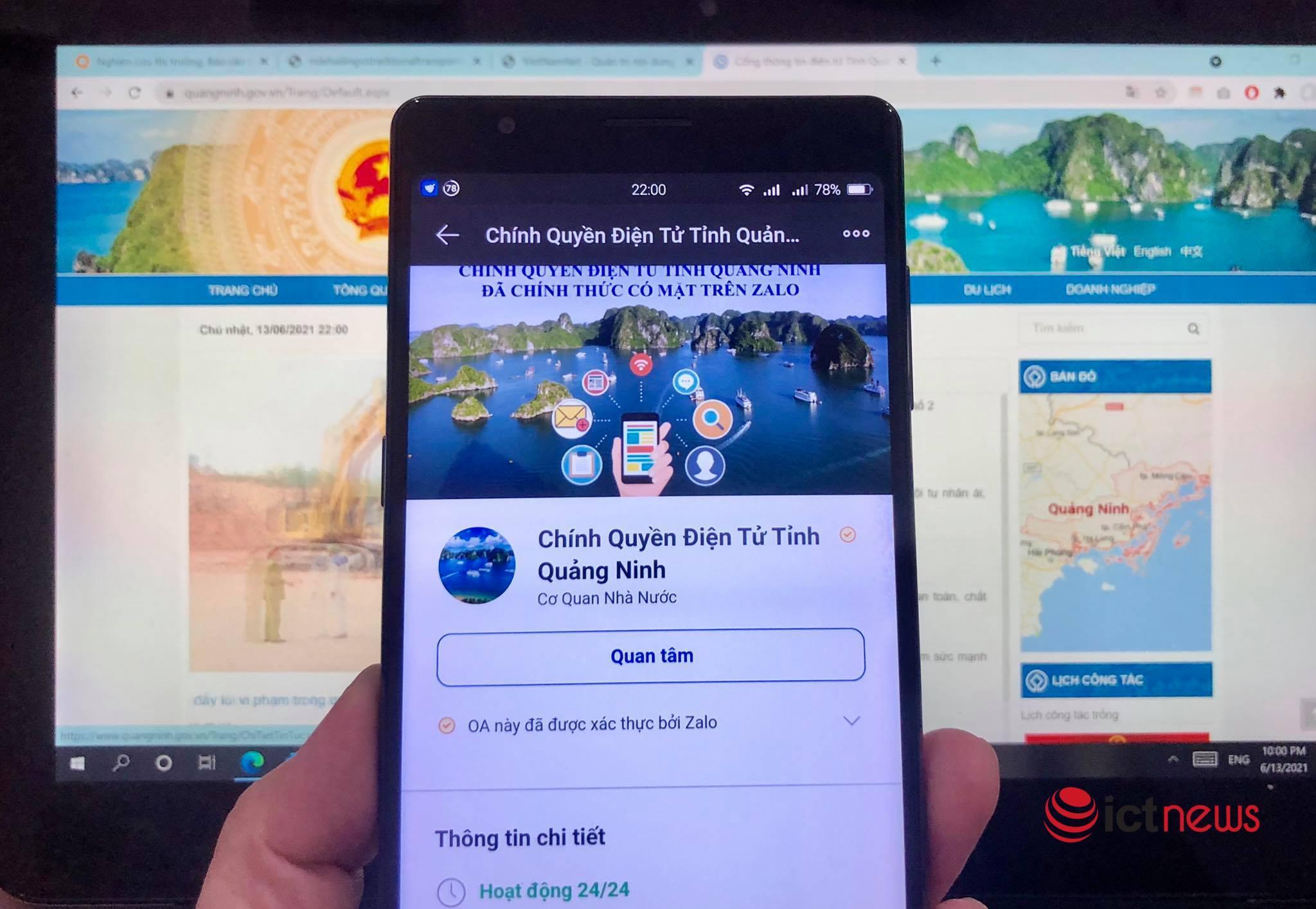 Quảng Ninh 'làm mới' tuyên truyền chống dịch qua cổng dịch vụ công và mạng xã hội