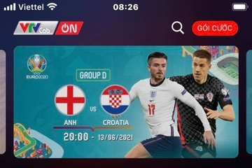 Những ứng dụng xem trực tiếp Euro 2020 trên điện thoại
