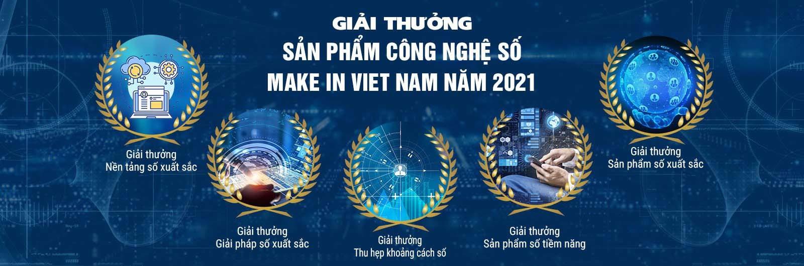 """Phát động giải thưởng """"Sản phẩm công nghệ số Make in Viet Nam"""" mùa thứ hai"""