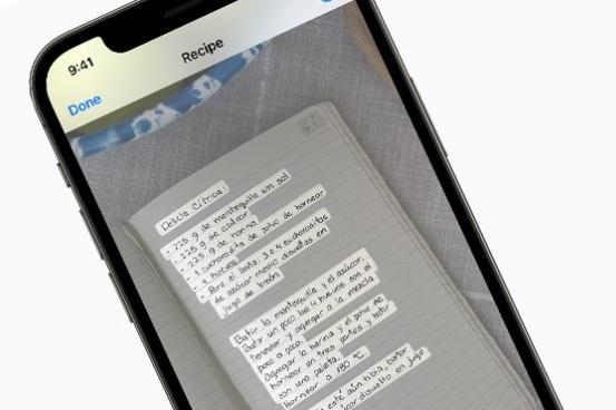 Hướng dẫn sử dụng Live Text trên iOS 15