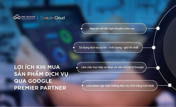 Tại sao nên mua Google Cloud thông qua Premier Partner